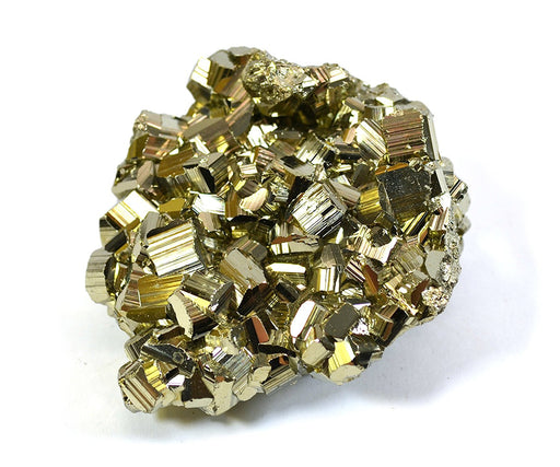 "Crystalline Pyrite, Approximately 2.5""-3"" Length, 10-20mm Crystals, Single Piece"