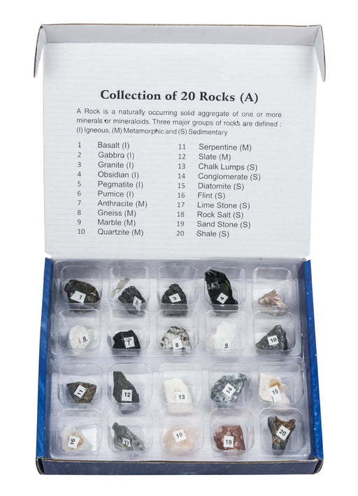 Set of 20 Rocks