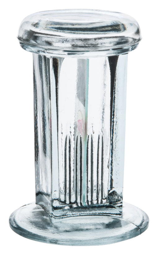 "Coplin Staining Jar, Fits up to five 76x25mm slides, 4.25"" Tall - Eisco labs"