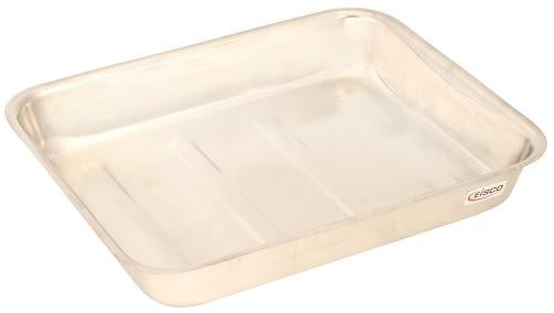 Dissecting Tray, S.Steel without wax,  Size : 20x15cm.