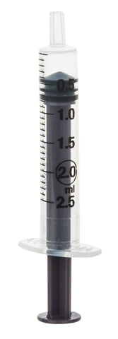Syringe Hypodermic - Disposable, 2ml