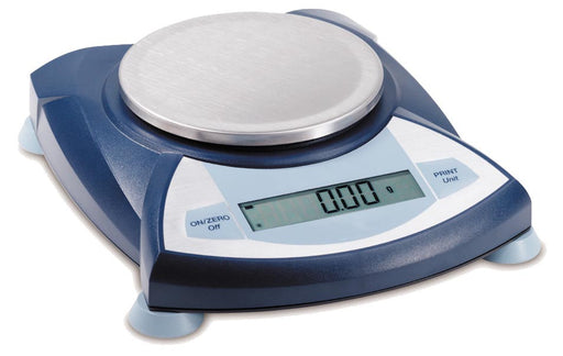 Balance Electronic Portable with Round Platform , 400 g,  readability 0.1g
