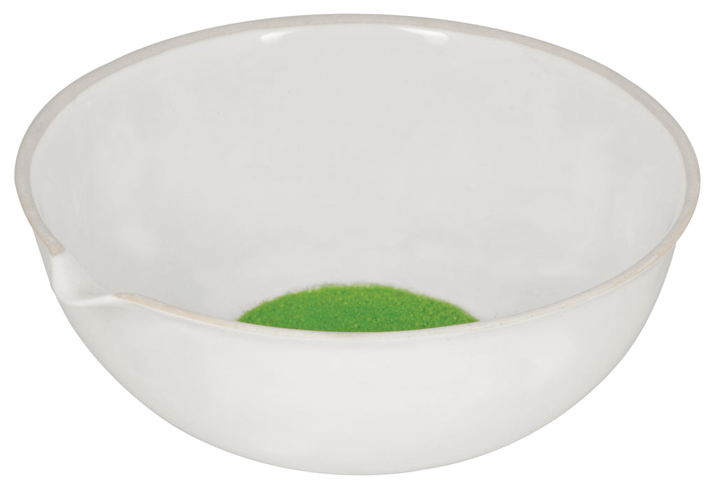 Basin Evaporating - Porcelain, deep form with spout, 1300 ml