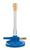 Premium Bunsen Burner with Flame Stabilizer and Gas Adjustment - Liquid Propane (LP)
