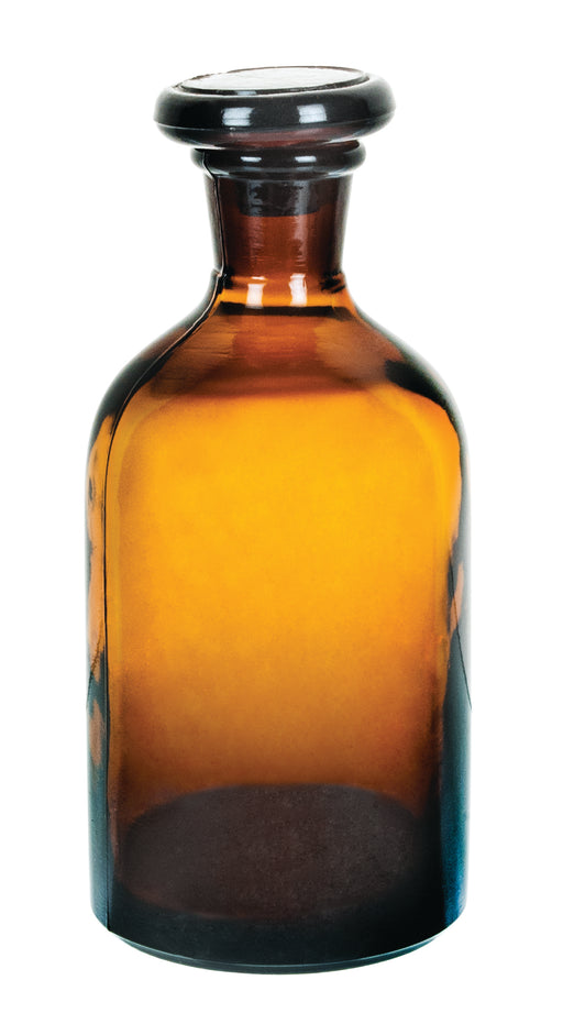 Bottle Reagent, Narrow neck, Amber 250 ml