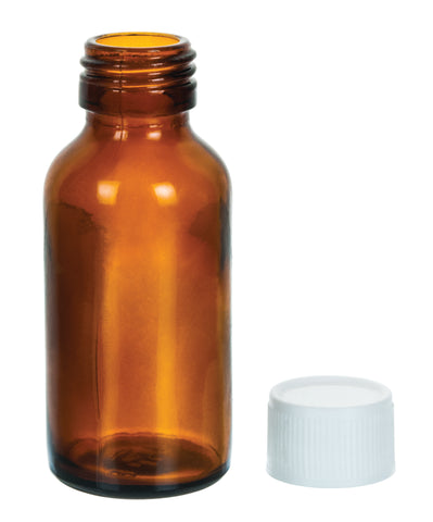 Bottle Reagent, Amber colour with screw cap - 60 ml