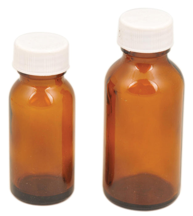 Bottle Reagent, Amber colour with screw cap - 180 ml