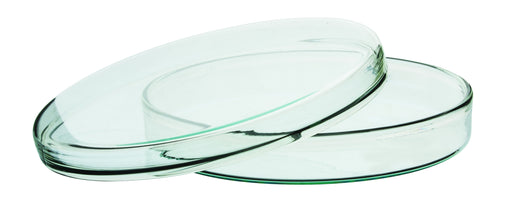 Petri Dish, Borosilicate glass Outer dia 150 x 20mm height