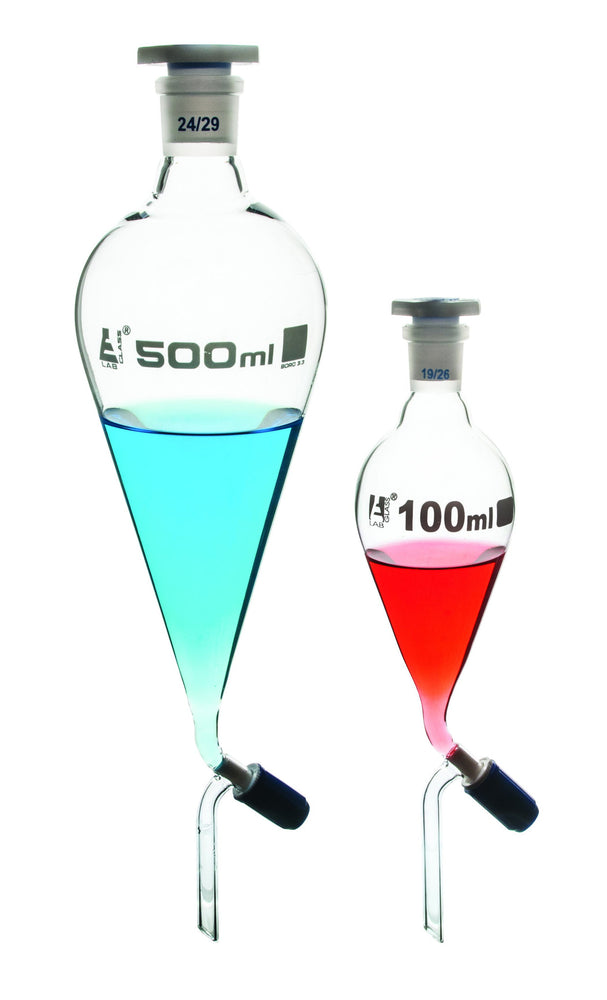 Funnel Separating - Squibb, Rotaflow Stopcock, 50 ml, Graduated