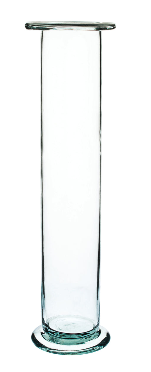 "Gas Jar, 400ml - 7.9"" x 2.24"" - Soda Glass, Cylindrical - Eisco Labs"