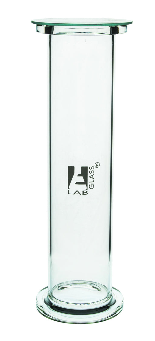 Gas Jar Borosilicate Glass, 25 cm