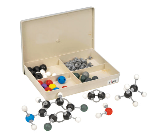 EISCO Student Inorganic and Organic Chemistry Molecular Model Set, 65 Pieces