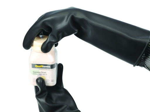 Gloves Rubber heavy duty, 10""