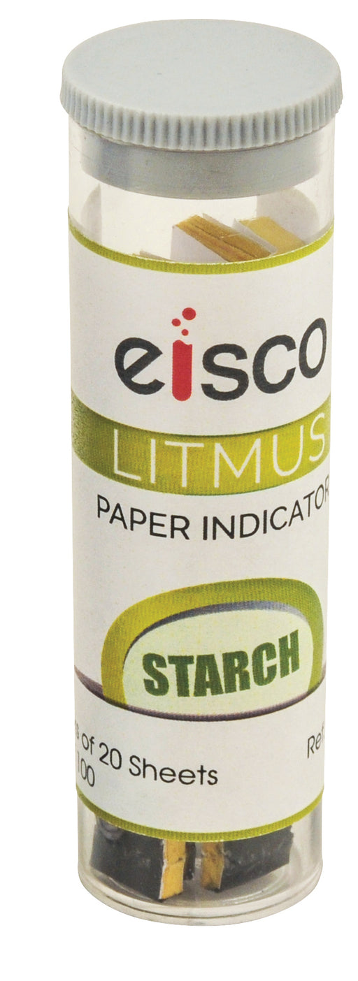 Paper Indicator - Starch, box of 100 leaves
