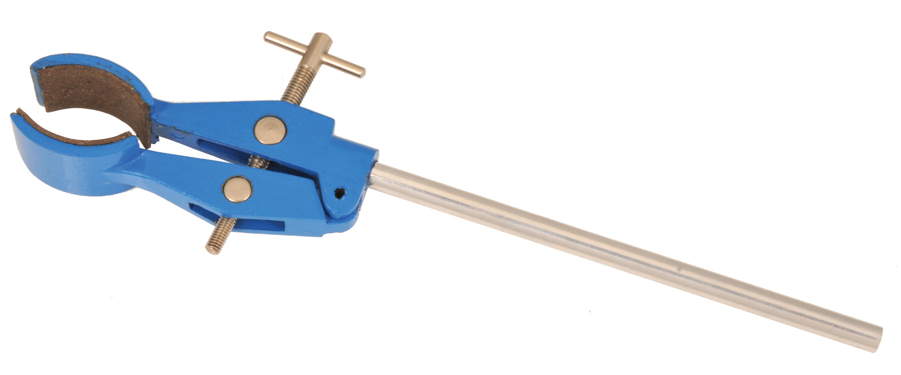 EISCO Universal Clamp, 2 Prong, Cork Lined