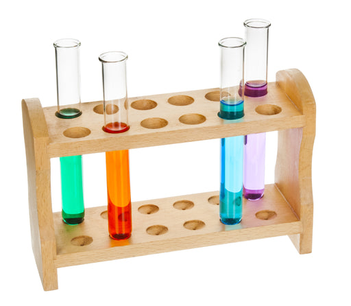 Test Tube Support - 12 place, Wooden