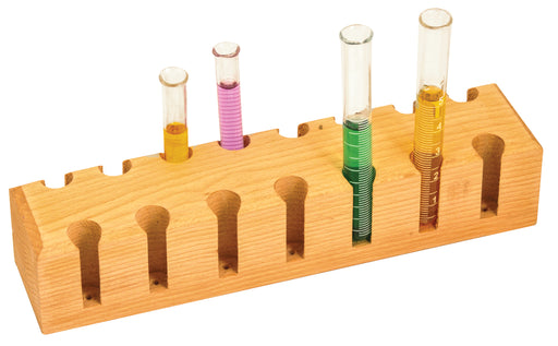 Test Tube Support 15 place, Wooden