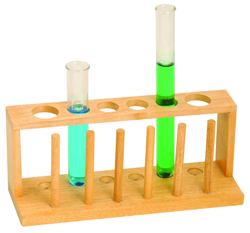 Test Tube Stand of 12 holes, Wooden