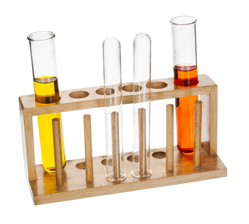 Test Tube Stand of 6 holes, Wooden