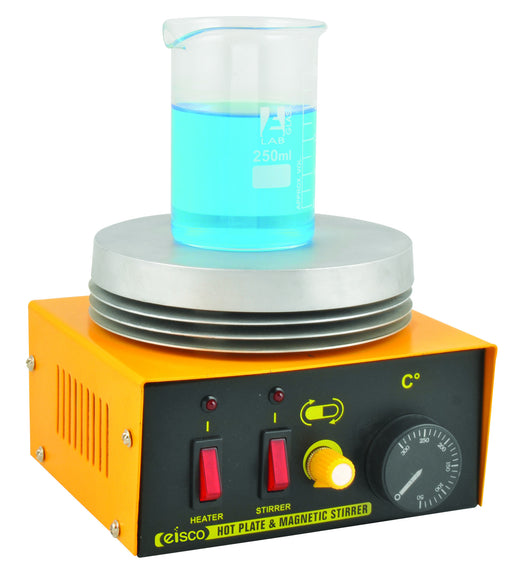 Laboratory Hot Plate - Round, with Magnetic stirrer