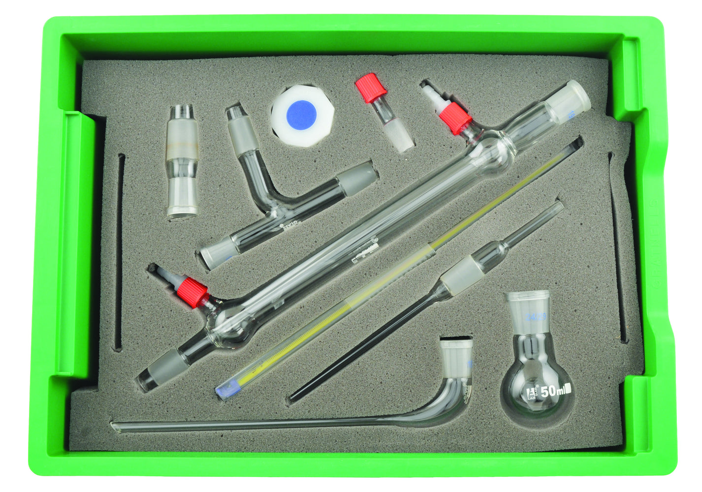 Set 34 BU Organic Chemistry Kit in Storage Tray with Lid
