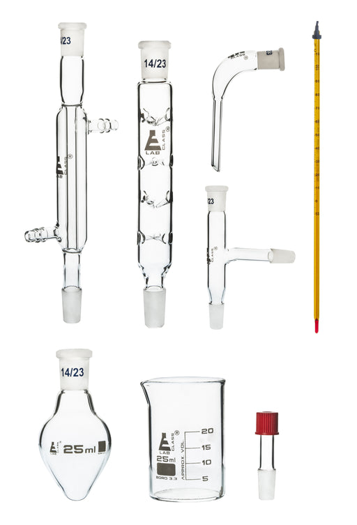 Eisco labs Starter kit for Simple Organic Chemistry - 8 Pieces