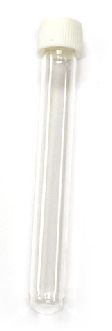 Borosilicate Test Tube with Screw Cap - Culture Tubes - 13x100mm, Pack of 24