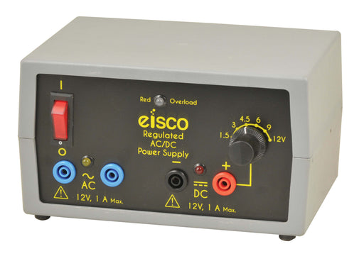 Power Supplies - Compact, Power Supplies Regulated AC/DC 12V - 1 Amp.