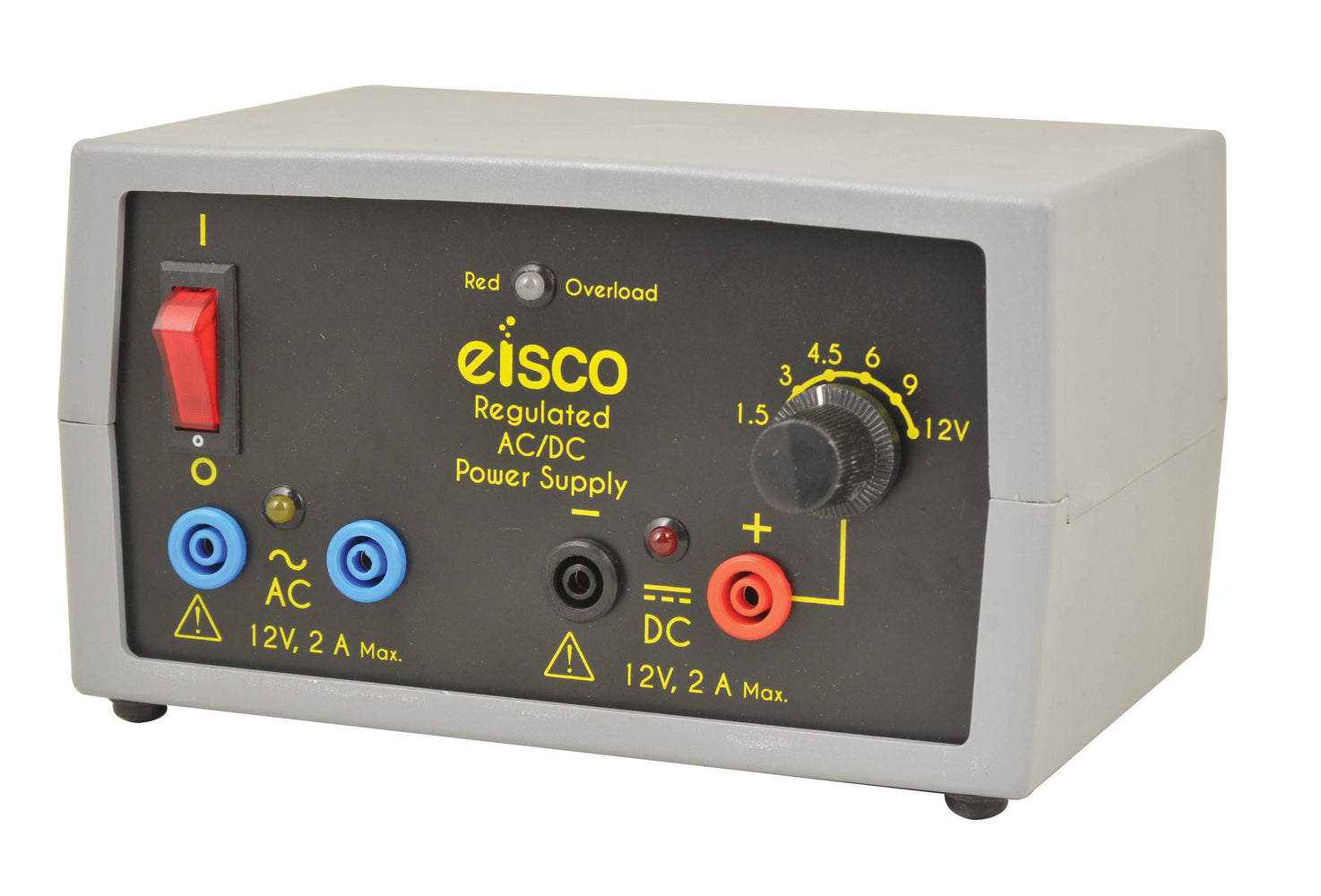 Power Supplies - Compact, Power Supplies Regulated AC/DC 12V - 2 Amp.