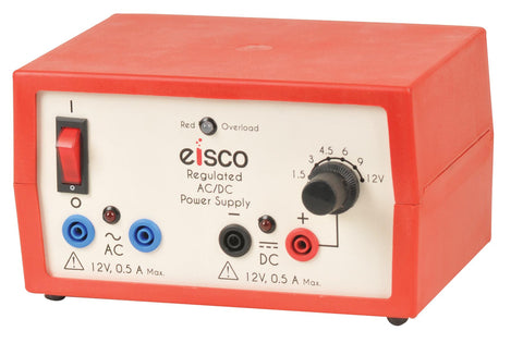 Power Supplies Regulated AC/DC 12V - 0.5 Amp.