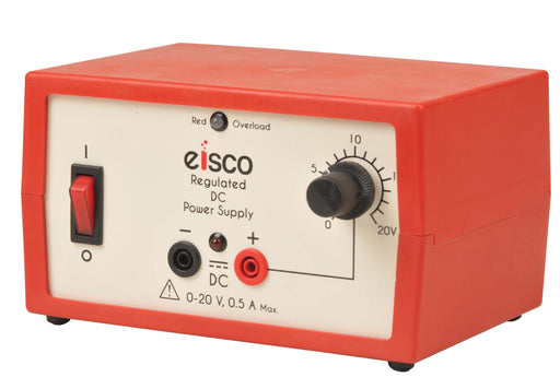 Power Supplies Regulated DC 0-20V, 0.5 Amp.