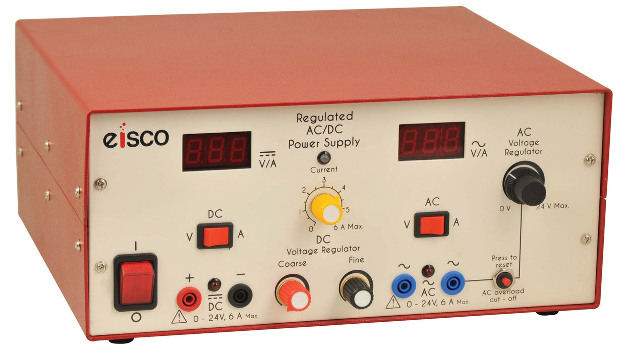 Power Supplies Low Voltage AC/DC Regulated0-24V, 6A with Digital display