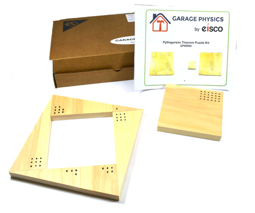 Eisco Garage Physics Pythagorean Theorem Puzzle Kit