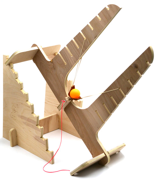 Eisco Garage Physics Projectile Motion Slingshot Kit