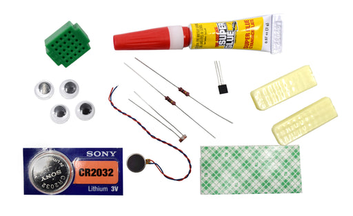 Eisco Science Fair Kits,  Light Sensitive Bristlebot Kit