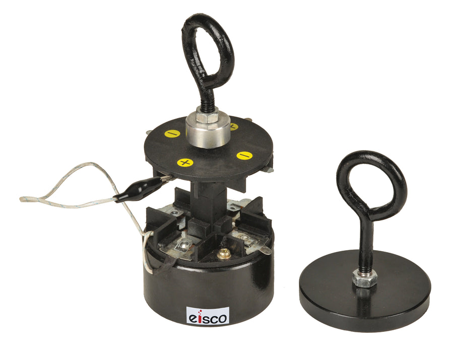 EISCO Iron Clad Electromagnet - Battery Powered, up to 100lbs.