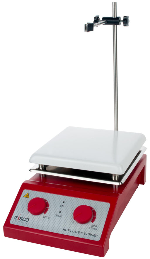 Hot Plate with Magnetic Stirrer - Ceramic Top, 110/120V AC