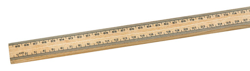 Meter Scale, 1 Meter - Hardwood, Premium - Horizontal reading - Eisco Labs