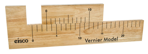 Vernier Caliper Demonstration Wooden