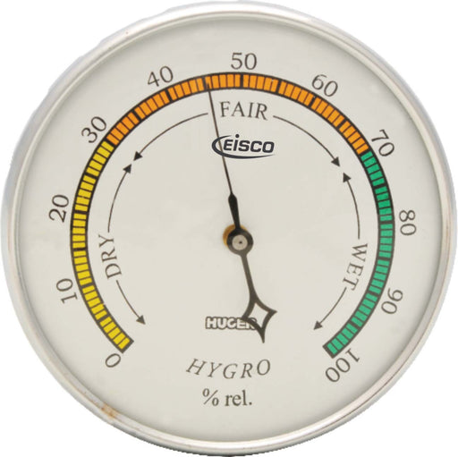 Hair Hygrometer, Diameter 105 mm