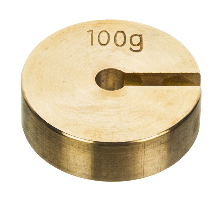 Masses Slotted Spare - Brass, 100g