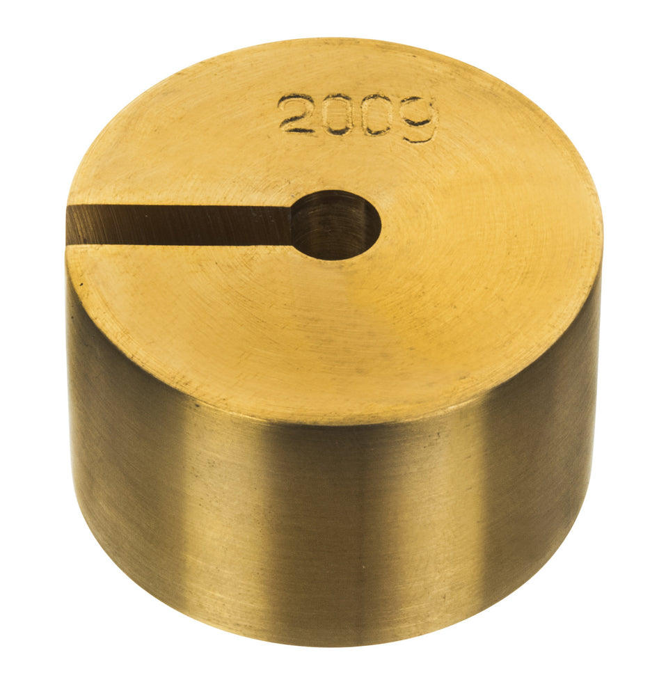 Masses Slotted Spare - Brass, 200g