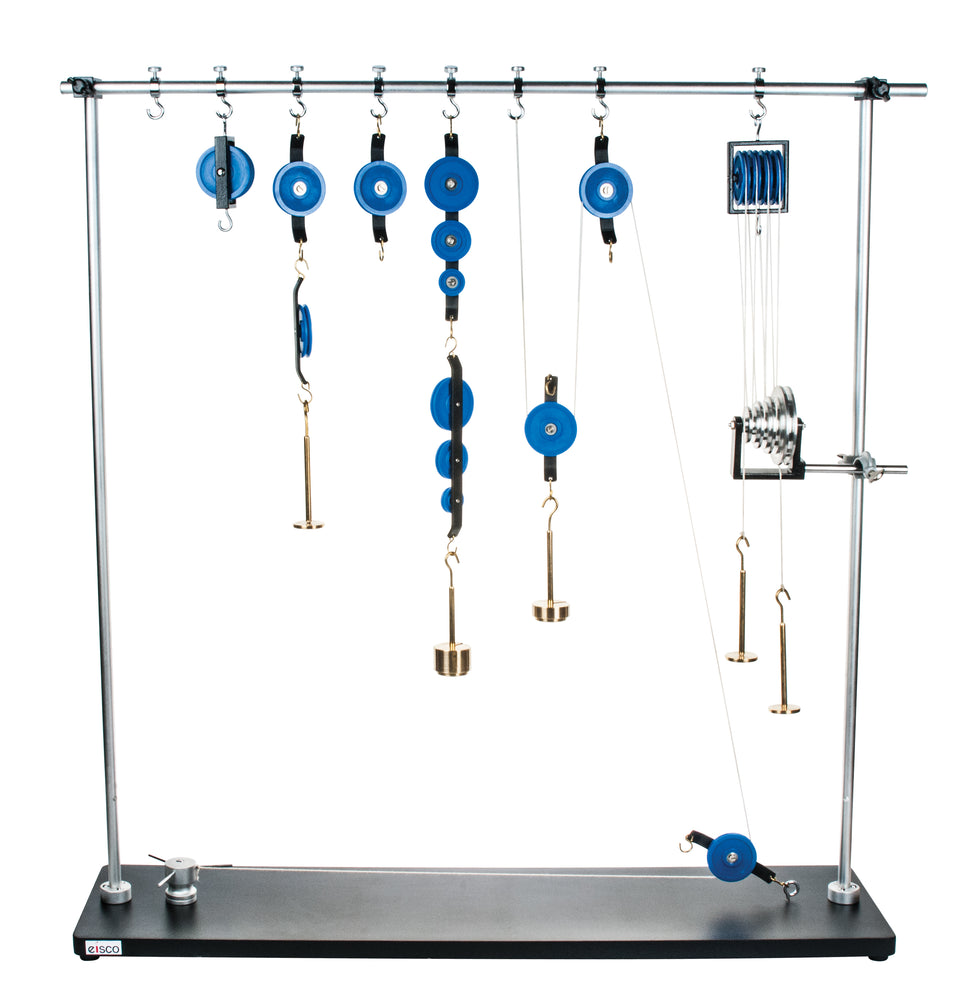 EISCO Advanced Pulley Demonstration Set