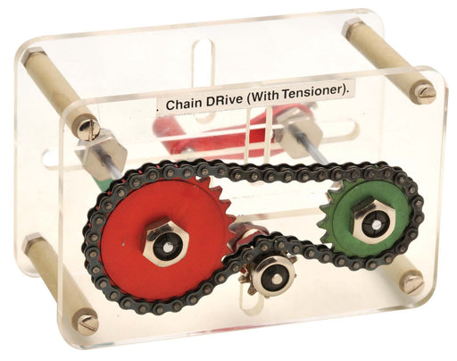 Chain Drive with Tensioner