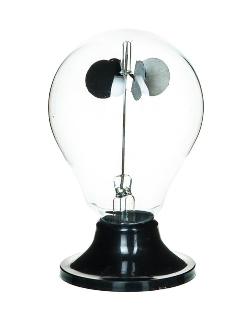 "Crook's Radiometer, 2.75"" (70mm) Diameter, Mounted on a Sturdy Plastic Base - Eisco Labs"