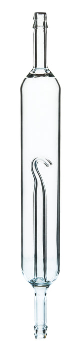 Eisco Labs Steam Trap Glass - Borosilicate Glass - Cylindrical