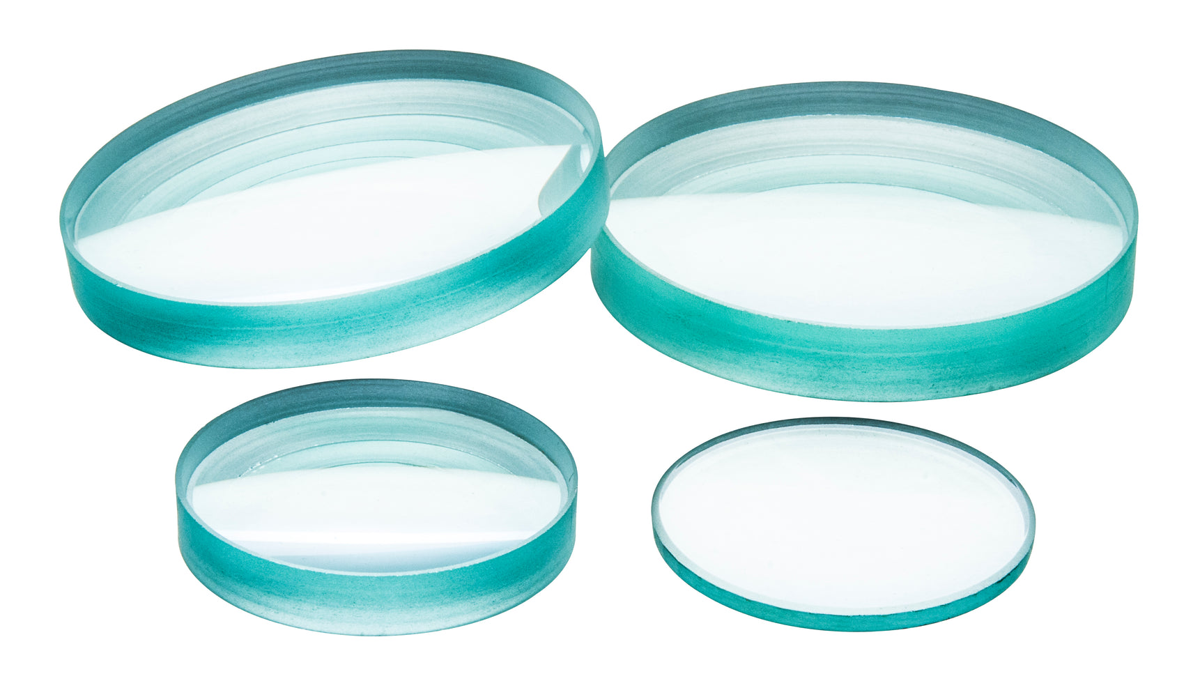 Glass Lenses - Double Concave, dia 50mm, focal length 300-1000mm