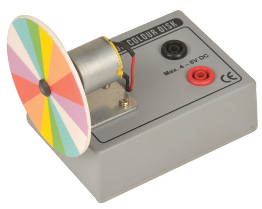 Newton's Color Disc - Motor driven