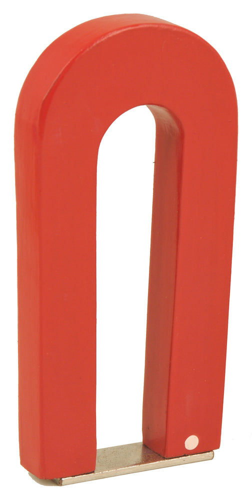 "5.5"" Red Strong U-Shape Magnet with keeper"