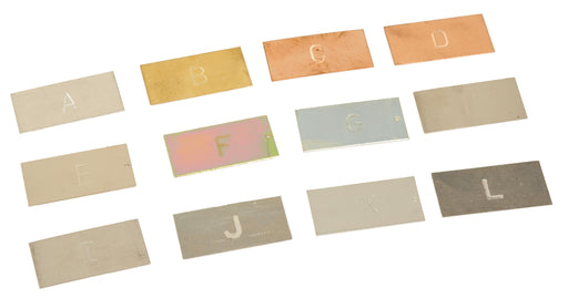 Set of Metal Strips